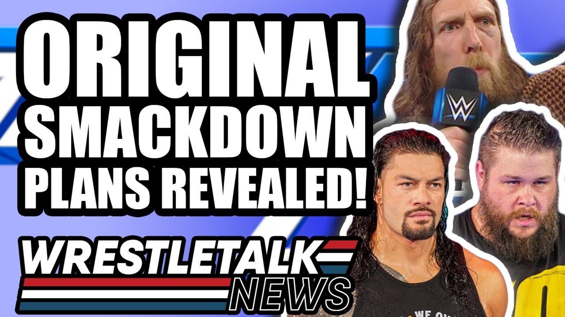 WWE Backstage HEAT On Star! Original WWE Smackdown Live Plans REVEALED! | WrestleTalk News Apr. 2019