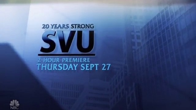 Law & Order: SVU - Promo 20x22