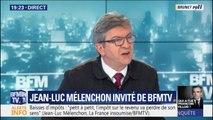 """Jean-Luc Mélenchon sur la crise des gilets jaunes:""""On en finira par une dissolution ou une Assemblée constituante"""""""