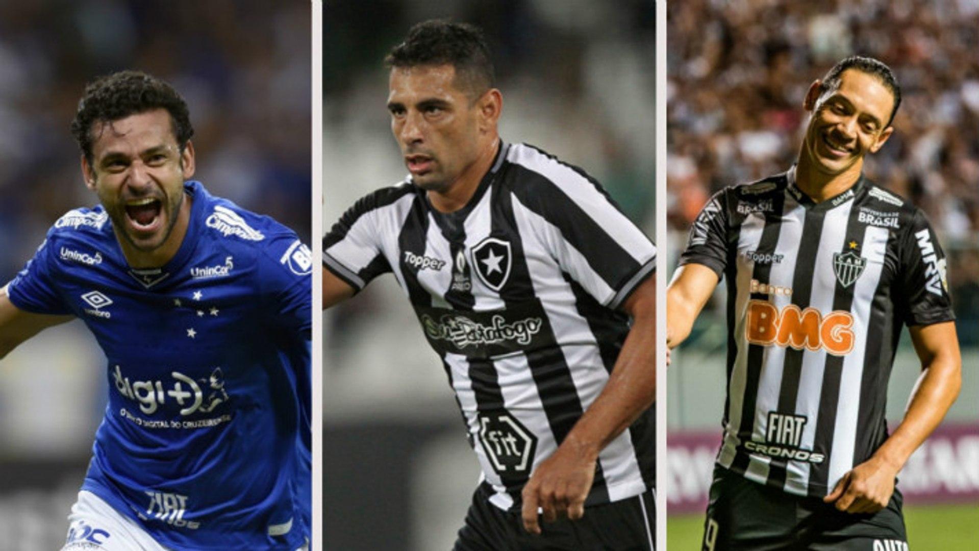 Veja os 10 maiores artilheiros do Brasileirão em atividade na Série A