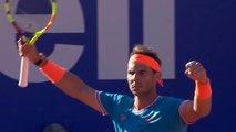 Rafael Nadal storms into Barcelona Open final four