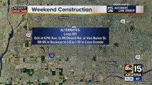 Weekend Traffic Alert (April 26-29)