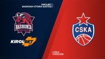 KIROLBET Baskonia Vitoria-Gasteiz - CSKA Moscow Highlights | Turkish Airlines EuroLeague PO Game 4