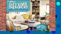 [MOST WISHED]  Small Space Decorating (Better Homes   Gardens Decorating) by Better Homes &
