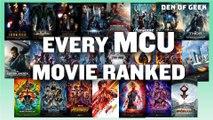 Marvel - Every Single MCU Film, Ranked