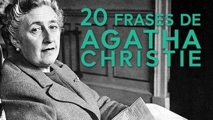 20 Frases de Agatha Christie  | Reina de la novela policiaca