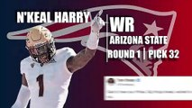 Patriots First-Round Draft Pick N'Keal Harry Quick Facts