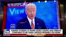 President Trump says he can 'easily' beat former Vice President Joe Biden in 2020 race