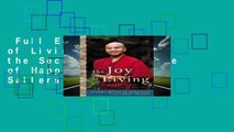 Full E-book  The Joy of Living: Unlocking the Secret and Science of Happiness  Best Sellers Rank