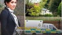 Meghan Markle baby: ambulance arrives at Frogmore Cottage!