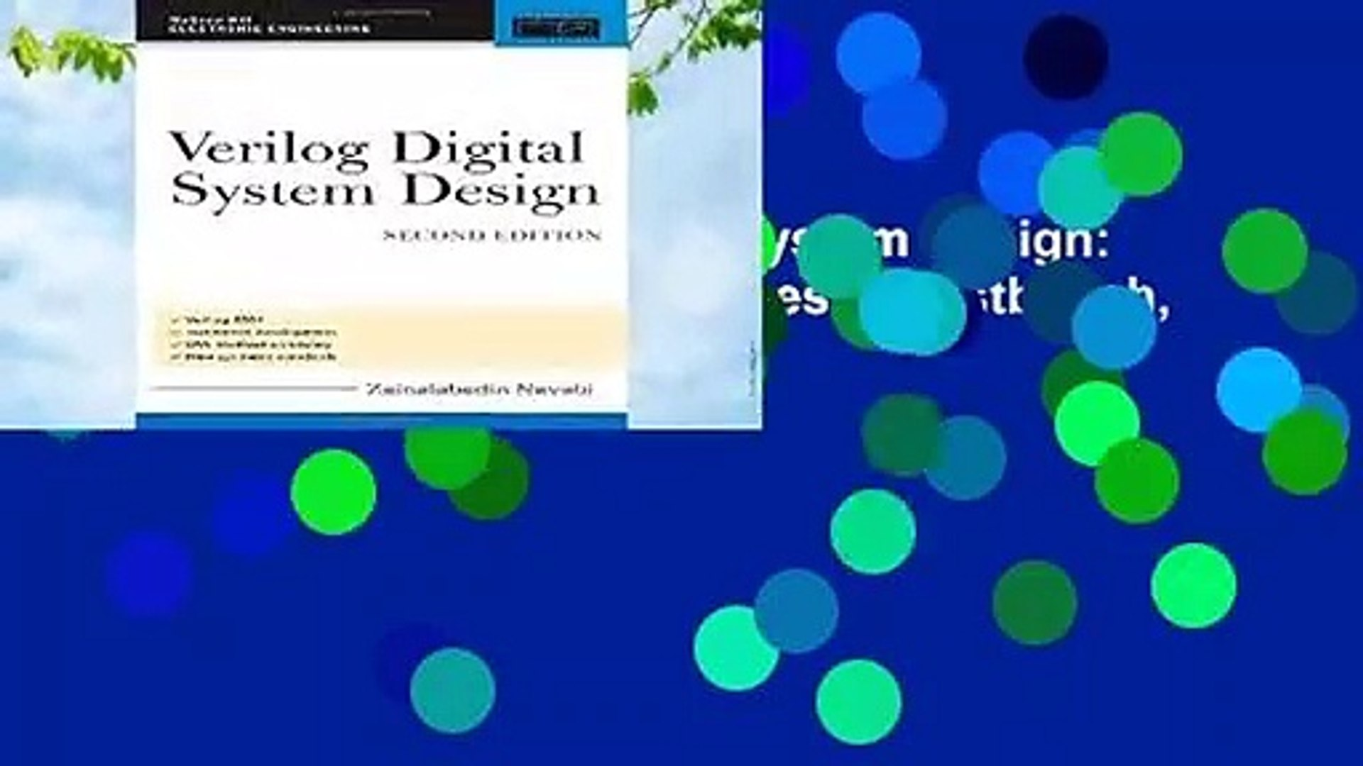 Full E Book Verilog Digital System Design Register Transfer Level Synthesis Testbench And Video Dailymotion
