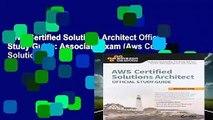 D O W N L O A D [P D F] AWS Certified Solutions Architect
