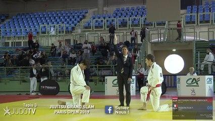 TAPIS 3 - JUJITSU GRAND SLAM PARIS OPEN 2019 - REPLAY J1