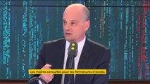 """Fermetures d'école, """"gilets jaunes""""... Jean-Michel Blanquer invité du 8h30 de franceinfo"""