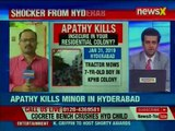 6 Year Old Dies after Concrete Bench Topples on him; apathy kills Minor in Hyderabad