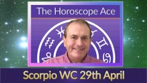 Scorpio Weekly Horoscope from 29th April - 6th May