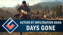 DAYS GONE : Action et infiltration réussie ? | GAMEPLAY FR