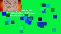 [GIFT IDEAS] Me and Rumi: The Autobiography of Shams-I Tabrizi by Shams-i Tabrizi