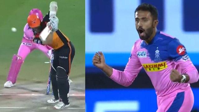 IPL 2019 SRH vs RR: Kane Williamson departs early,  Shreyas Gopal strikes | वनइंडिया हिंदी