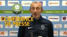 Conférence de presse Clermont Foot - Paris FC (1-1) : Pascal GASTIEN (CF63) - Mecha BAZDAREVIC (PFC) - 2018/2019