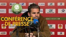 Conférence de presse US Orléans - ESTAC Troyes (0-1) : Didier OLLE-NICOLLE (USO) - Rui ALMEIDA (ESTAC) - 2018/2019