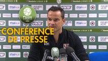 Conférence de presse Red Star  FC - FC Metz (1-2) :  (RED) - Frédéric  ANTONETTI (FCM) - 2018/2019