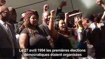 L'Afrique du Sud commémore les 25 ans de la fin de l'apartheid