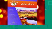 [BEST SELLING]  Hidden Idaho: Including Boise, Sun Valley, and Yellowstone National Park (Hidden
