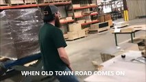 Dancing to Old Town Road - OLD TOWN ROAD CHALLENGE LIL NAS X
