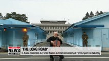 S. Korea celebrates 4.27 inter-Korean summit anniversary at Panmunjeom on Saturday