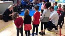 Volley-ball - Le baby volley de Saint-Dié s'amuse en chansons