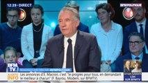 """François Bayrou: """"Une taxe carbone aux frontières européennes"""" est """"la chose la plus révolutionnaire qu'on puisse faire"""""""