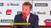 """Nicolas Dupont-Aignan : """"Je ne renie en rien ce que j'ai fait au second tour de la présidentielle"""""""