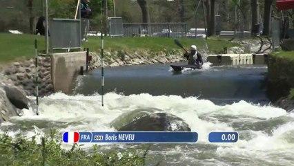 Championnat de France Elite Slalom 2019   Course 2 - Finale A - K1  homme et C1 dame