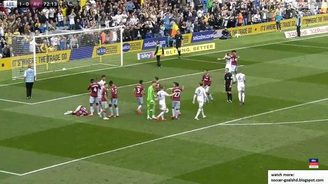 Leeds vs Aston Villa | All Goals and Highlights HD