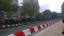 Les Formule 1 Renault débarquent sur les grands boulevards à Valence