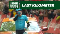 Flamme Rouge / Last Kilometer - Liège-Bastogne-Liège 2019