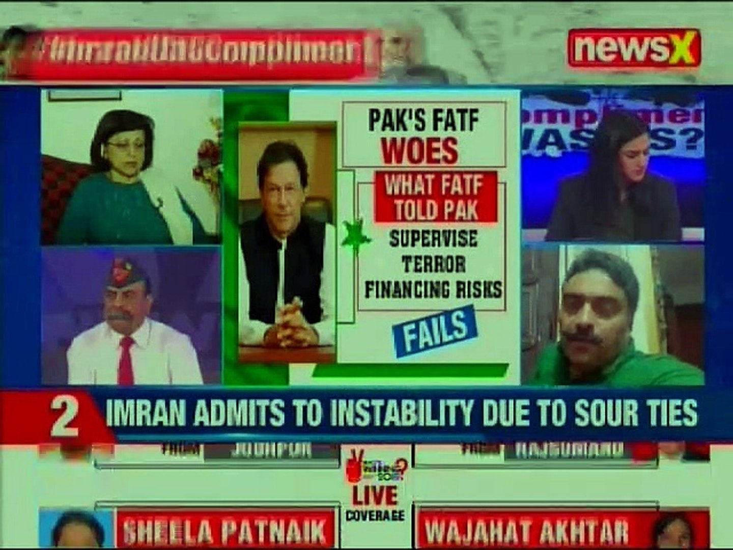 Imran Khan: India Pakistan Ties is cause for instability, hope tie after Lok Sabha Election 2019