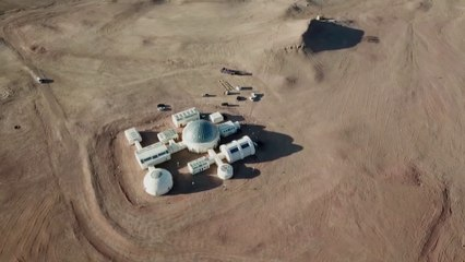 Une base spatiale éducative ouvre au fin fond du désert de Gobi