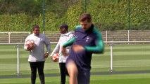 Tottenham Hotspur train for  UCL semi-final first leg against Ajax