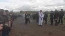 Les opposants à Clarebout organisent les funérailles de Frameries, Mons et Quévy