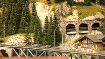 Chemin de fer Montreux Oberland Bernois - Trains miniatures de Suisse - Une vidéo de Pilentum Télévision sur le modélisme ferroviaire avec des trains miniatures