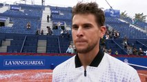 Reaction from Dominic Thiem after he beats Daniil Medvedev to win the Barcelona Open