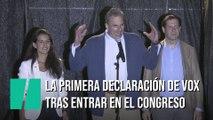 """""""Compatriotas, la resistencia ya está dentro del Congreso"""", las palabras de Ortega Smith sobre el resultado de Vox"""