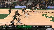 Boston Celtics at Milwaukee Bucks Recap Raw