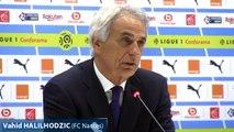 OM-Nantes : la réaction de Vahid Halilhodzic