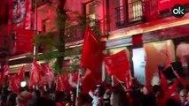 Okdiario habla con los asistentes al acto del PSOE