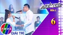 THVL | Đấu trường âm nhạc mùa 2 - Tập 6[5]: Đêm cô đơn - Mẫn Nhi, Quang Đăng
