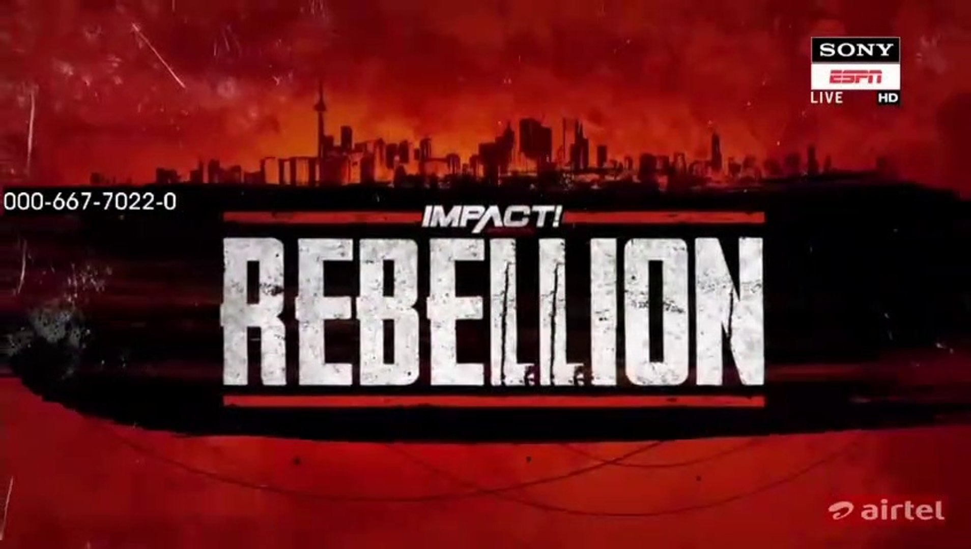Watch Impact Wrestling Rebellion 28th April 2019  PPV Full Show Online Free.HD