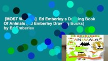 [MOST WISHED]  Ed Emberley s Drawing Book Of Animals (Ed Emberley Drawing Books) by Ed Emberley